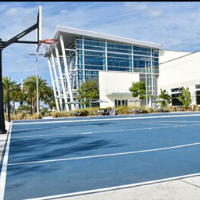 Outdoor South Basketball Court